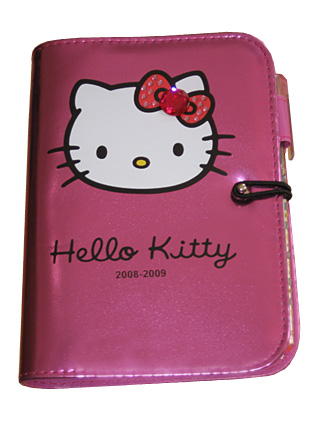 hello kitty skoldagbok 2008-2009
